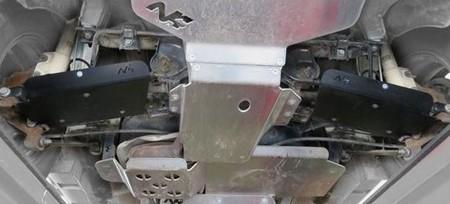 Ochraniacze na trójkąt tylny Dacia Duster 2010+ (1)