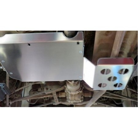 Aluminiowa osłona zbiornika paliwa i tłumika (1)